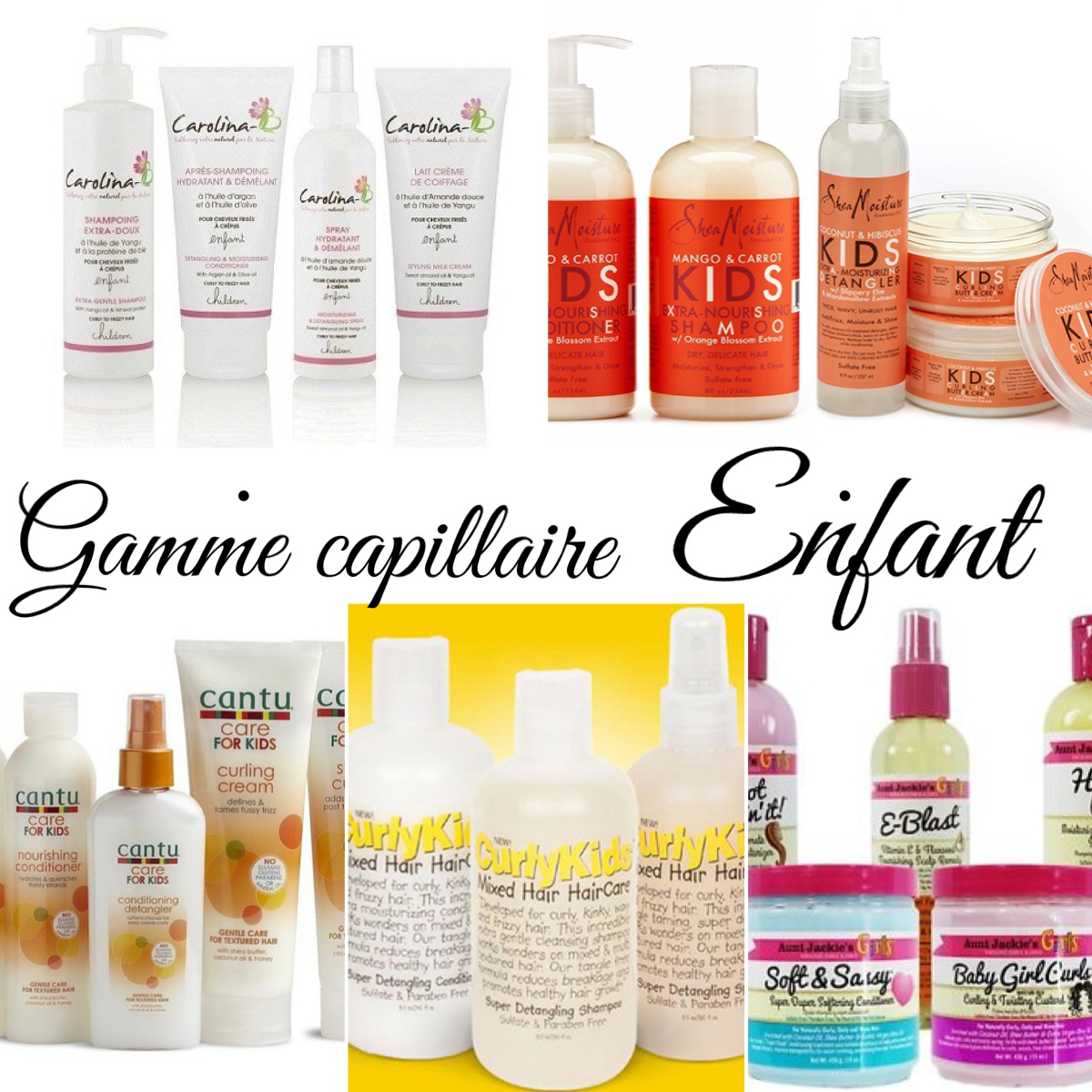 Shampoing pour cheveux boucles bebe