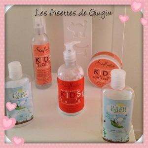 Les produits capillaires de Giuigiu