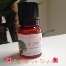 l'huile de brocolis