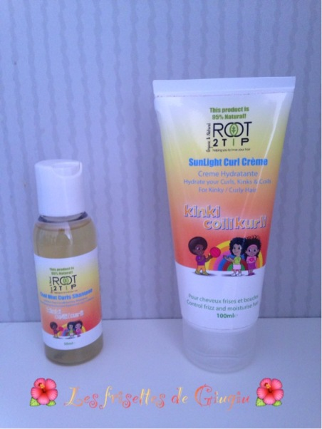 Shampoing et creme coiffante Root 2 Tip