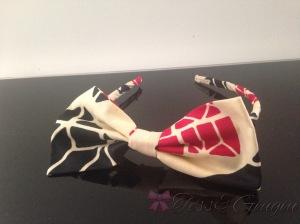 Ebeni Shop Un serre-tête avec nœud wax