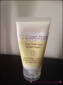 Le crown Pride lait coiffant