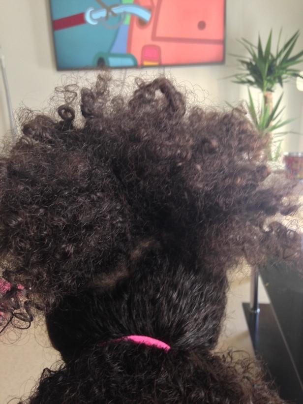 Le resulat de cheveux hydrater