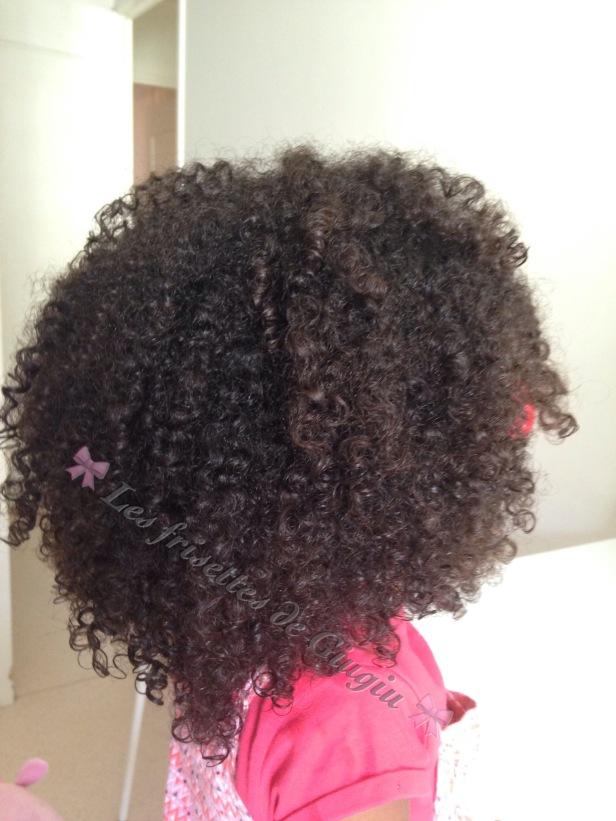 Les resultat de ces huiles sur les cheveux de Giugiu