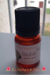 l'huile de baobab