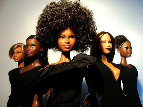 barbie noire et metiss