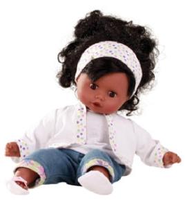 poupée bébé muffin fille noire 33 cm Gotz