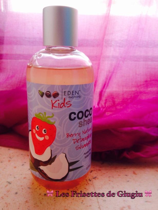 Eden bodyworks kid coco shea berry detangling shampoo