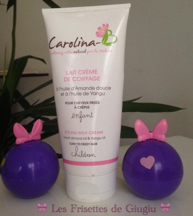 Lait crème de coiffage de Carolina B Enfant (1).jpg