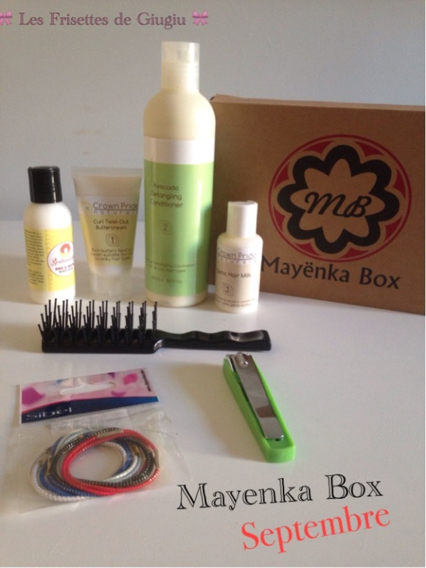 Mayenka Box de septembre