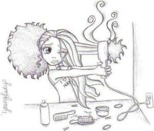 brosse et seche cheveux