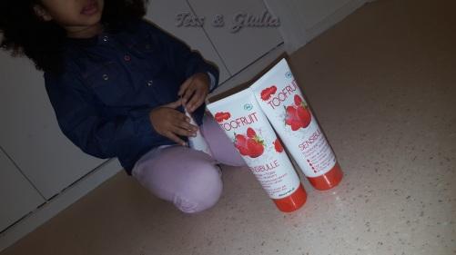Sensibulle gélee de douche fraise-framboise