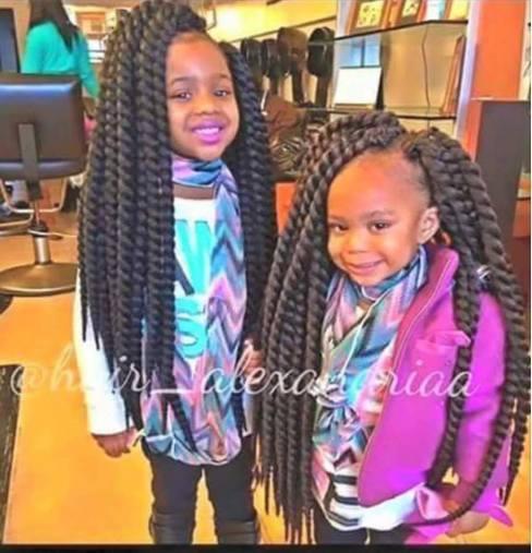 Pourquoi coiffer nos enfants noirs avec des crochets braids ou des m ches synth tiques - Meche pour tresse africaine pas cher ...