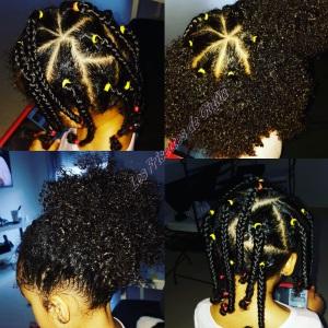 coiffure de Giulia