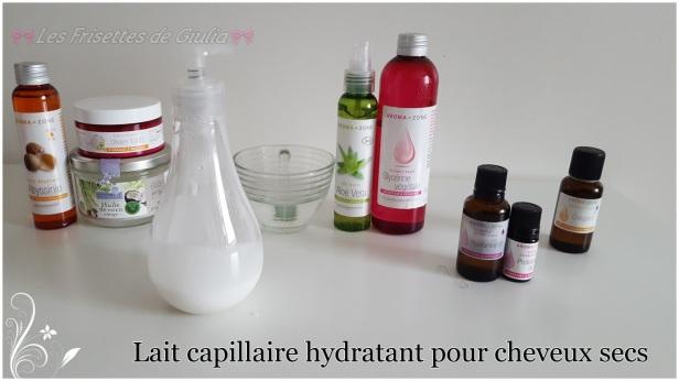 Lait capillaire hydratante pour cheveux secs  (2)
