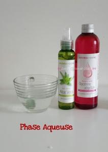 Lait capillaire hydratante pour cheveux secs