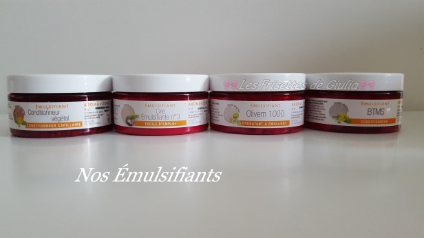Nos emulsifiants (2)