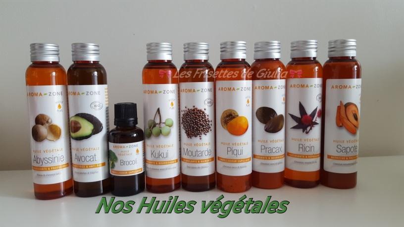 huile vegetale pour cheveux