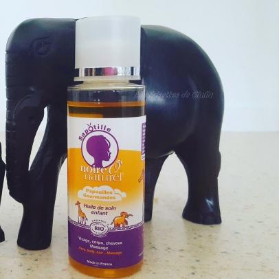 papouille gourmande l'huile de sapotille de Noire o Naturel