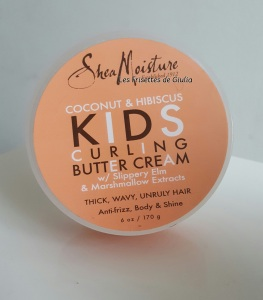 Shea Moisture Kids Curling Butter cream