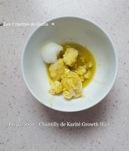 Chantilly de karité moutarde et avocat