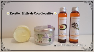 DIY Whipped coconut oil