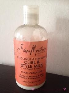 hea Moisture Curl & style milk