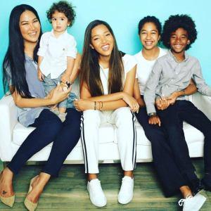 kimora et ses enfants